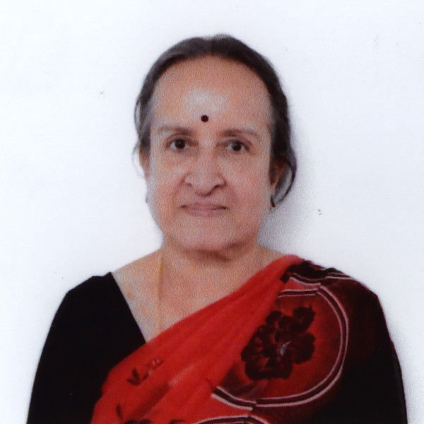 headshot of M. Indira Venkatesan