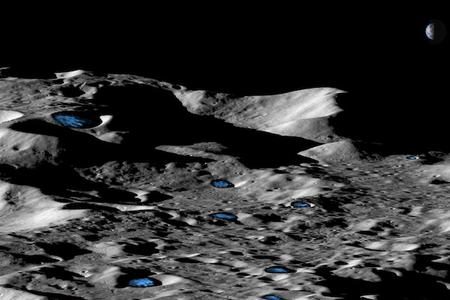 Moon has more water ice than previously thought
