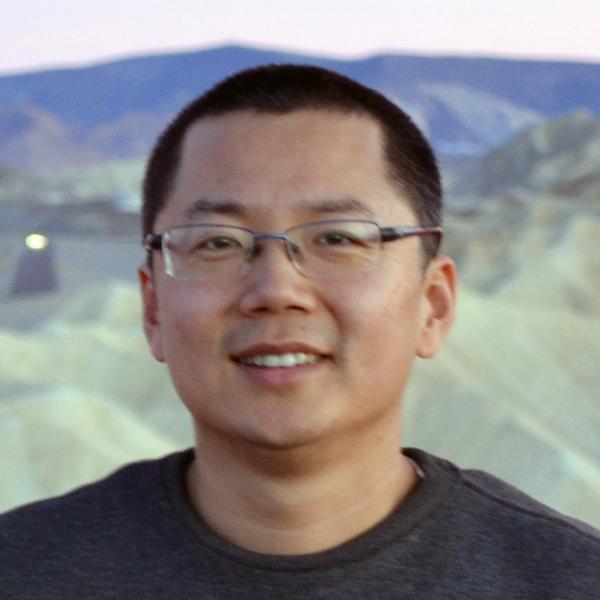 headshot of Yingdong Jia